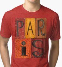 Paris Sign Tri-blend T-Shirt