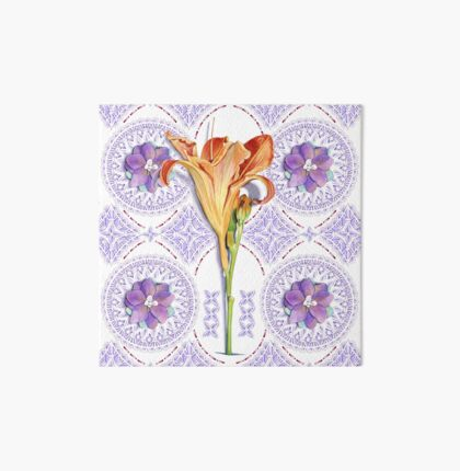 Gothic Revival Daylily Art Board