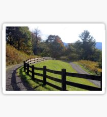 Country fence Sticker