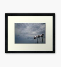 Great Day at the Game Framed Print