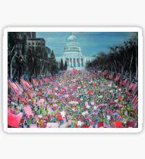 Women's March on Washington Sticker