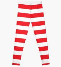 Candy Cane Stripes - Striped Design Leggings