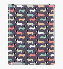 Retro Dogs Pattern iPad Case/Skin