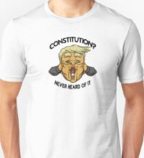 Illiteracy Slim Fit T-Shirt