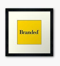 Branded® Framed Print