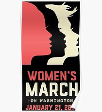 Women's March on Washington 2017 Poster