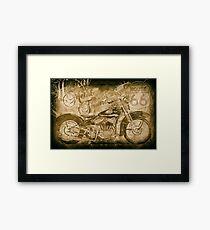 Heavy Metal Thunder Framed Print