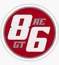 86 - AE or GT?   (vintage) Sticker