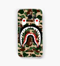 BAPE SHARK WOODLAND CAMO Samsung Galaxy Case/Skin