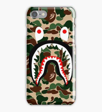 BAPE SHARK WOODLAND CAMO iPhone Case/Skin