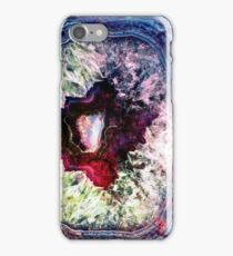 Blue Jade & Magenta Agate iPhone Case/Skin