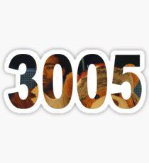 3005 Sticker