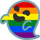 «Gay Pride Android Ghost Emoji» de baiiley