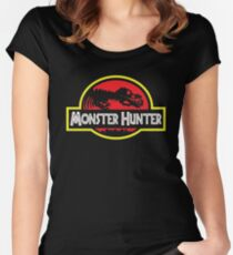 Monster Hunter Women's Fitted Scoop T-Shirt