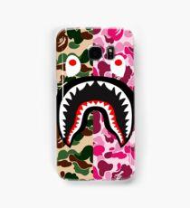 shark army red Samsung Galaxy Case/Skin