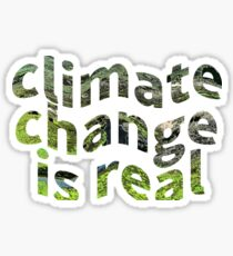 Global Warming Climate Change Protest Awareness Sticker