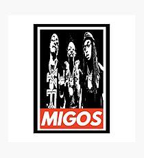 Migos v2 obey Photographic Print