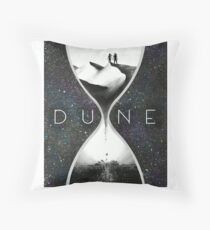 Time for Dune Throw Pillow