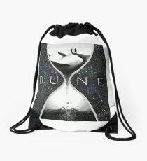 Time for Dune Drawstring Bag