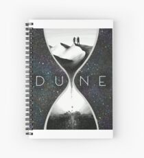 Time for Dune Spiral Notebook