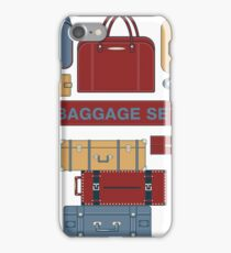 Baggage Set for Travel Time. Different Bags and Suitcases iPhone Case/Skin