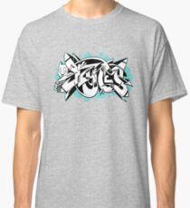 DZYNES Graffiti Cat n Bubbles Classic T-Shirt