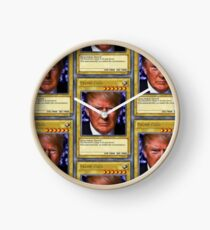 YuGiOh! Donald Trump Card Clock
