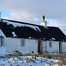 Blackrock Cottage in Winter (Panorama) by Maria Gaellman