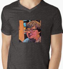 Abstraction Men's V-Neck T-Shirt