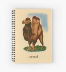 C is for Camel Spiral Notebook
