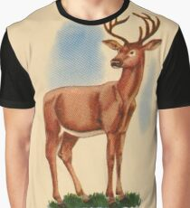 D is for Deer Graphic T-Shirt