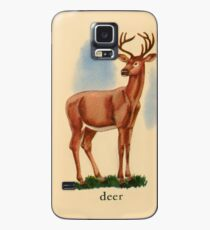 D is for Deer Case/Skin for Samsung Galaxy