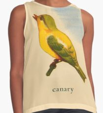 C is for Canary Contrast Tank
