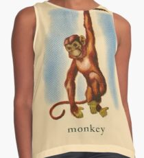 M is for Monkey Contrast Tank