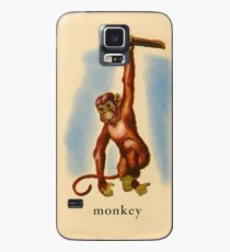 M is for Monkey Case/Skin for Samsung Galaxy