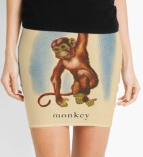 M is for Monkey Mini Skirt