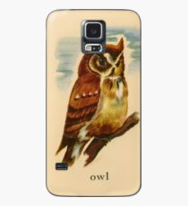 O is for Owl Case/Skin for Samsung Galaxy