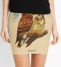O is for Owl Mini Skirt