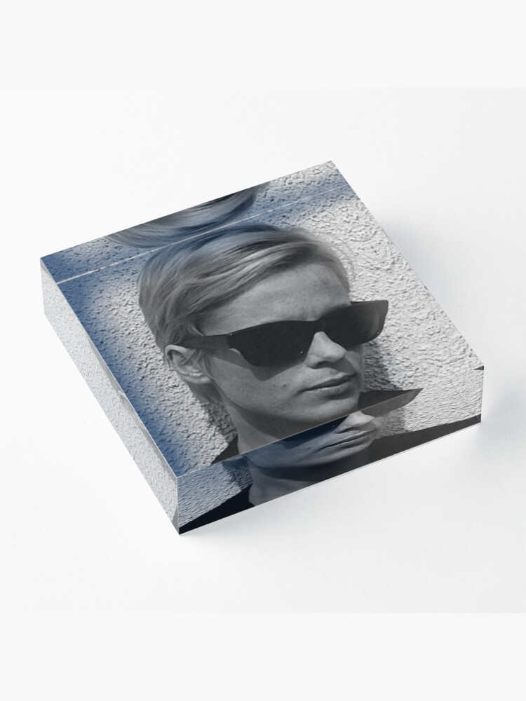 Alternate view of Bibi andersson Acrylic Block