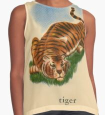 T is for Tiger Contrast Tank