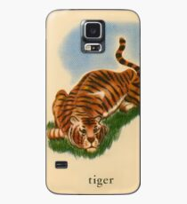 T is for Tiger Case/Skin for Samsung Galaxy