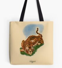 T is for Tiger Tote Bag