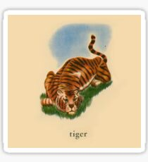 T is for Tiger Sticker