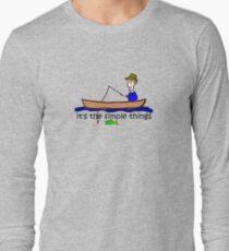 Fishing - Simple Things Long Sleeve T-Shirt