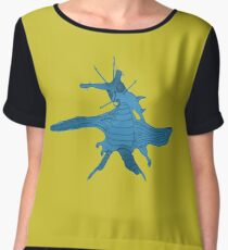 dancing bug Women's Chiffon Top
