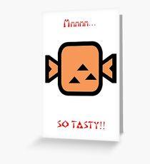 Monster Hunter- So tasty! Greeting Card