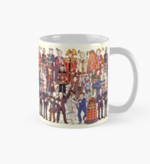 The party doesn't start until the Doctor walks in...twelve times Classic Mug