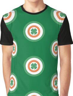 Captain Ireland Shield – Irish, America Graphic T-Shirt