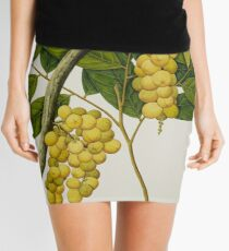 Vintage Grapes Mini Skirt