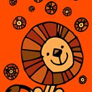 Cute Cartoon Lion Dream by Cheerful Madness!! by cheerfulmadness